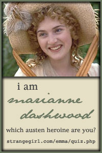 Marianne Dashwood!