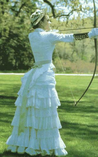 Fun in OC: My new 1880 gown | StrangeBlog