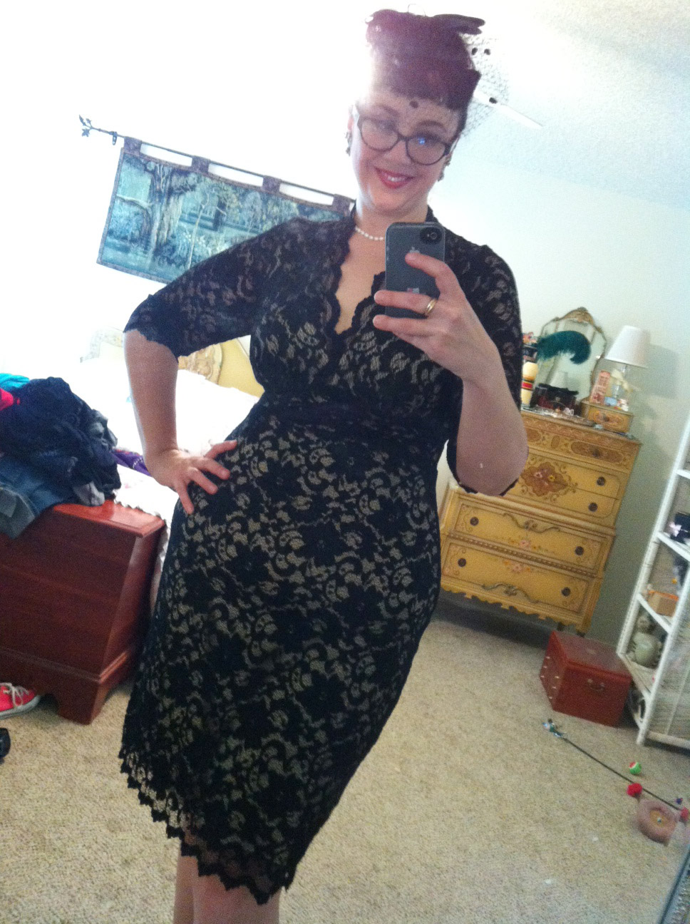 Review: Kiyonna\'s fabulous 1940s lace dresses...in plus sizes ...