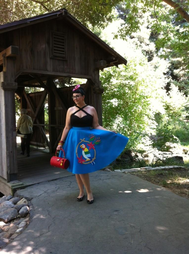 DailySparkle Tiki Room skirt
