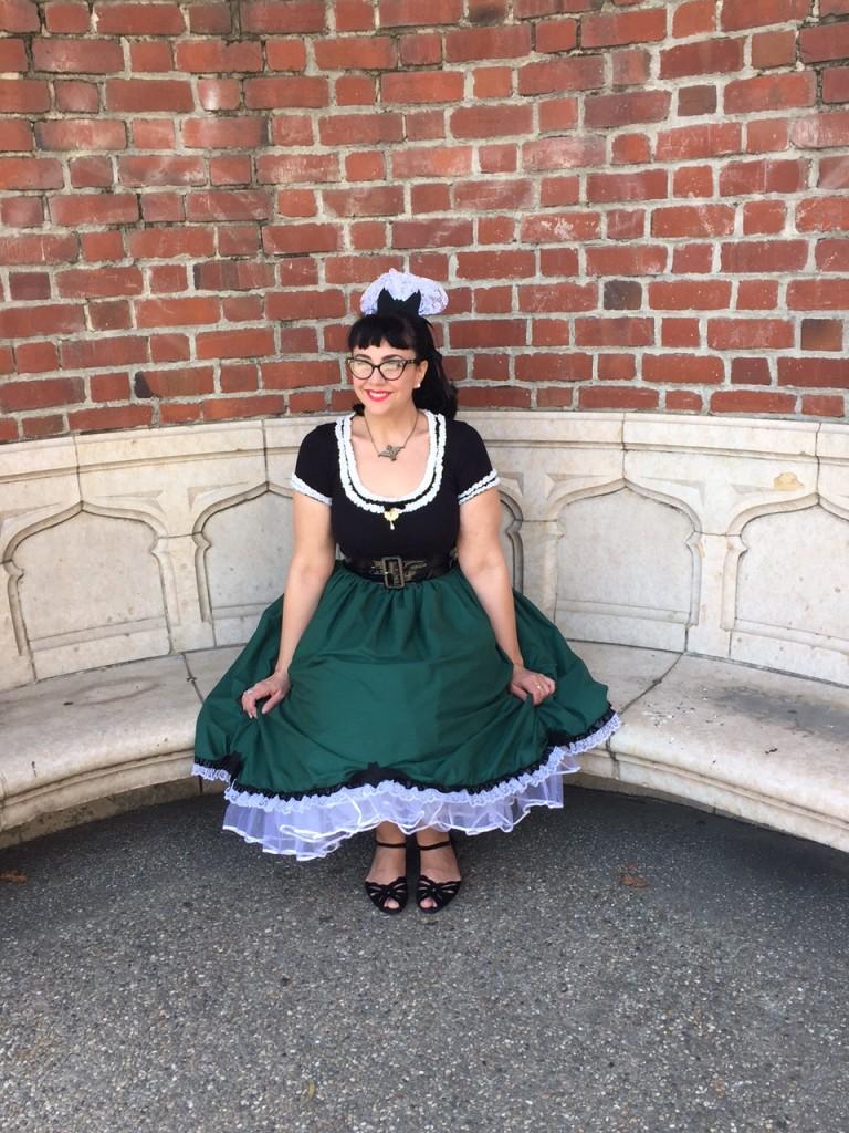 Haunted Mansion Skirt
